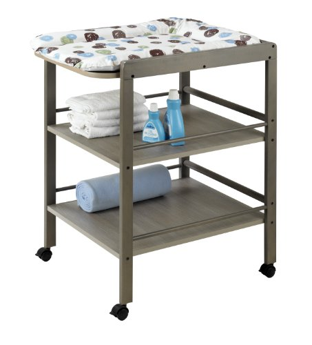 Geuther Clarissa Changing Table (Slate Grey) back-1037136