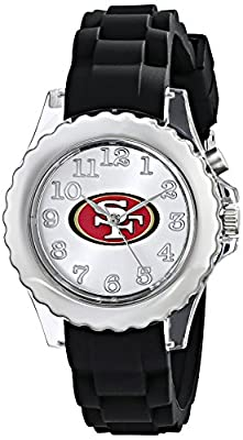 """Game Time Youth NFL-FLB-SF """"Flash Black"""" Watch - San Francisco 49ers"""