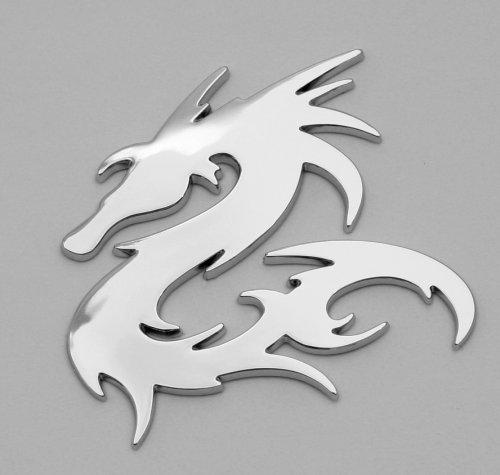 Dragon Car Chrome Badges Emblem 3D Logo