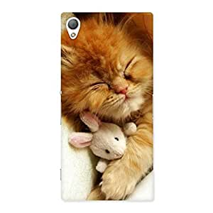 Ajay Enterprises cute kitty Back Case Cover for Sony Xperia Z3