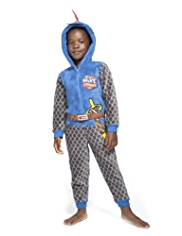 Mike the Knight Hooded Fleece Onesie