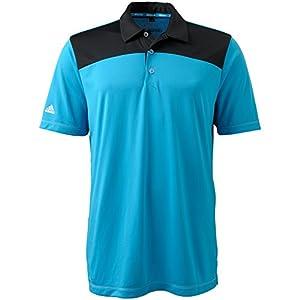 Adidas Golf Mens Climachill Shoulder Print Polo by adidas