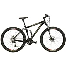 2014 Dawes Roundhouse 2750 Bicycle Shimano 27 Speed 27.5 inch wheel (650B) Full Suspension Bike Lockout Suspension Fork (White, 21 inch)