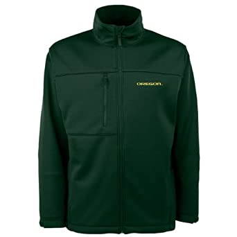 NCAA Oregon Ducks Traverse Jacket Mens by Antigua