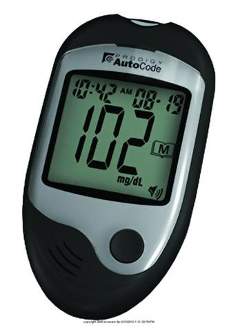 Cheap (EA) Prodigy(r) Autocode Talking Blood Glucose Monitoring System (ISG-DDI070120EA)