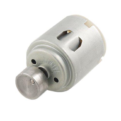 Rf-260 Dc 12V 0.06A 6000Rpm Mini Vibration Motor Silver Tone