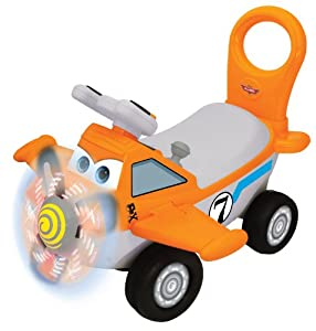 Click here to buy Kiddieland Toys Limited Dusty Plane Ride On by Kiddieland Toys Limited
