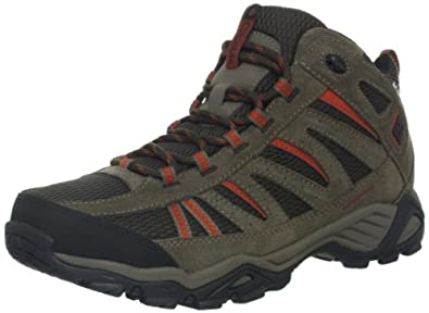Columbia Mens North Plains Mid Water Proof Wide Trail Shoe by Columbia