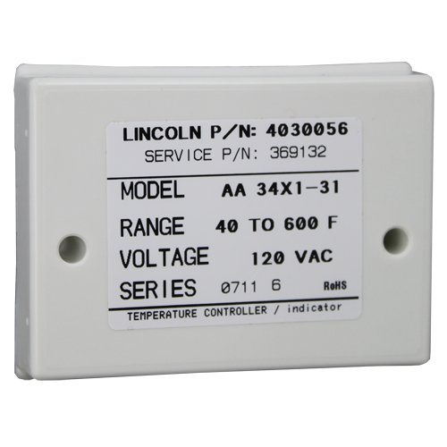 Lincoln Oven Temperature Control 369132 front-555667
