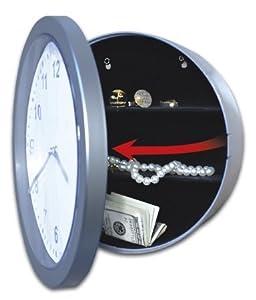 Jobar International Inc Wall Clock With Hidden Safe JB4985