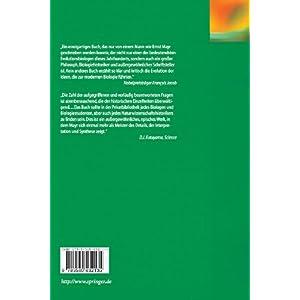 Die Entwicklung der biologischen Gedankenwelt: Vielfalt, Evolution und Vererbung (German Edition)
