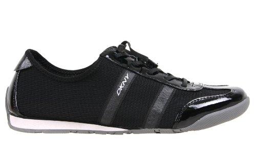 27de7f33d DKNY Women's Foundation Fashion Sneaker,Black mesh,8 M US | Buy and ...