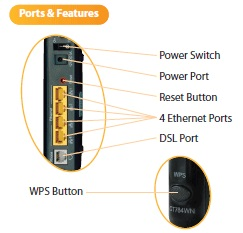 hook up verizon wireless router How to set up a wifi router to use with your laptop connect the power adapter to the back panel of the wireless router.