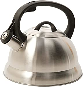 3 X Mr. Coffee 91407.02 Flintshire Stainless Steel Whistling Tea Kettle, 1.75-Quart