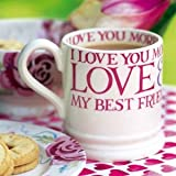 Emma Bridgewater Card - My Best Friend/Mug Card (EB02)
