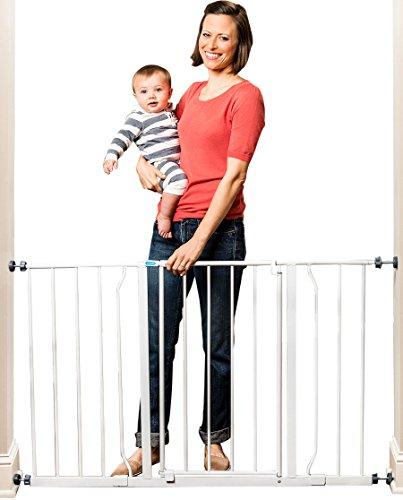 Best Deal Regalo Easy Open Super Wide Walk Thru Baby Safety Gate