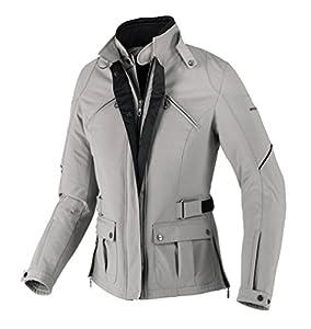 SPIDI Synclair - Veste textile moto pour Femme en Gris Taille : XXL