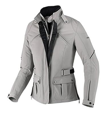 SPIDI Synclair - Veste textile moto pour Femme en Gris Taille : L