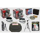 Opteka HD² Pro Digital Accessory Kit for Sony HDR-CX7, HDR-HC9, HDR-SR5, HDR-SR12, HDR-CX12, & HDR-SR11 Digital Camcorder