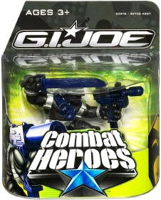 G.I. Joe The Rise of Cobra Combat Heroes Single Pack Snake Eyes - 1