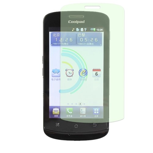 Cell Accessories For Less (Tm) Coolpad Quattro 4G/5860 Screen Protector Anti-Grease - By Thetargetbuys