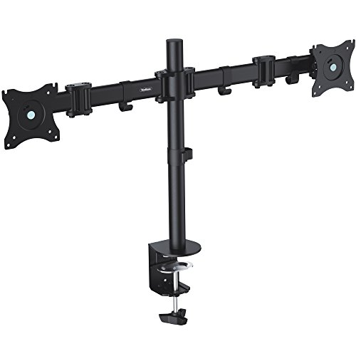 vonhaus-double-twin-arm-lcd-led-monitor-desk-mount-bracket-for-13-27-screens-with-45-tilt-360-rotati