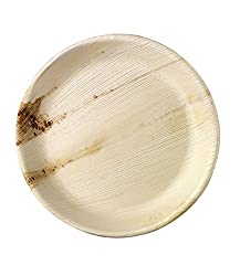 Areca Disposable Plates Round 10 inch (25.00)
