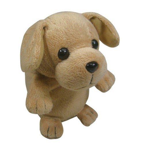 ものまねぬいぐるみ「こえマネわんちゃん」 犬  人の声を真似てぴょんぴょん踊るこえマネぬいぐるみ