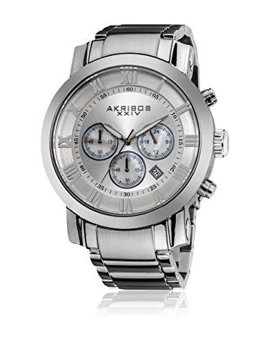 Akribos XXIV Reloj de cuarzo Man AK622SS 47 mm
