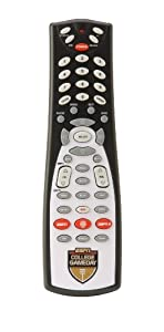ESPN College GameDay GameChanger 0000 Universal 4-Device Remote Control (Black)