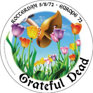 Licenses Products Grateful Dead Rotterdam 72 Sticker