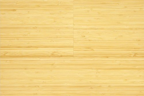 6ft Click Engineered Bamboo Vertical Natural Flooring (4 x 7/12 inch Sample)