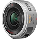 Panasonic Lumix G X Vario PZ 14-42 mm f/3.5-5.6 Power O.I.S. Lens (Silver)