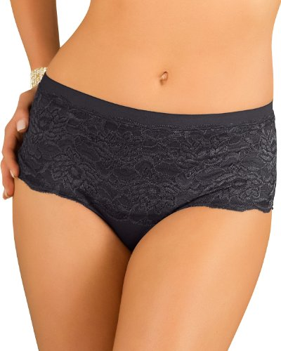 Control Hiphugger Panty with Luxurious Lace