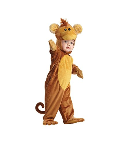[Monkey Toddler Costume for Babies] (Baby Gorilla Costumes)