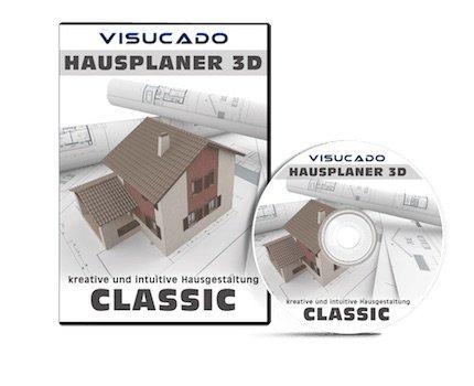Visucado classic 3d cad raumplaner hausplaner software for Innenraumplanung software