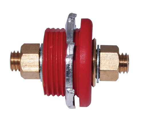 Moroso 74144 Red Thru Panel Connector