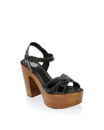 UMA Sandalette Marina schwarz