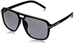 GIO Collection Oversized Sunglasses (Black) (P12298)