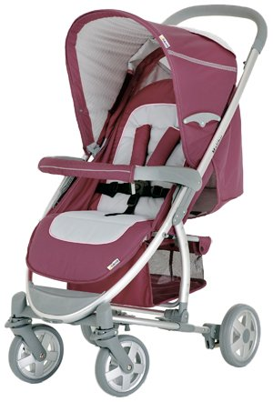 Hauck Malibu Stroller And Car Seat Adaptor, Violet front-1051706