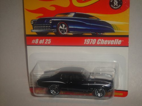 HOT WHEELS CLASSICS SERIES 1 1970 CHEVELLE DIE-CAST (DARK PURPLE ALMOST BLACK IN COLOR) - 1