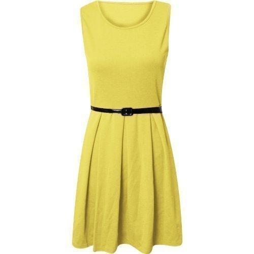 Flirty Wardrobe -  Vestito  - Donna Lemon Yellow 40