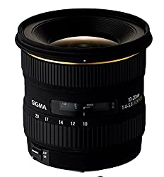 Sigma 10-20mm F/4-5.6 EX DC HSM Zoom Lens for Canon DSLR Camera