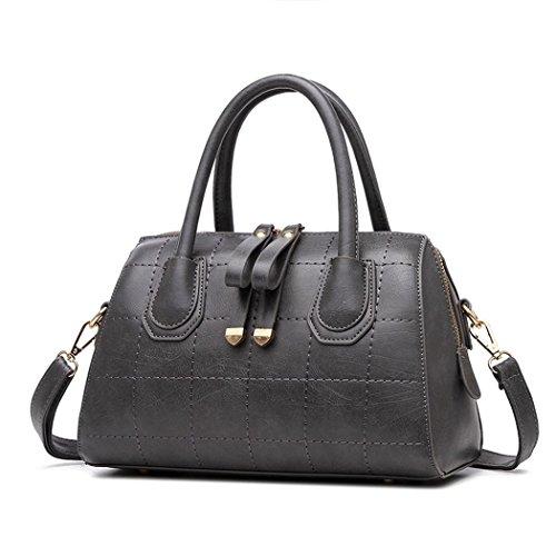 ryse-womens-fashionable-classic-double-zipper-sweety-exquisite-handbag-shoulder-baggrey