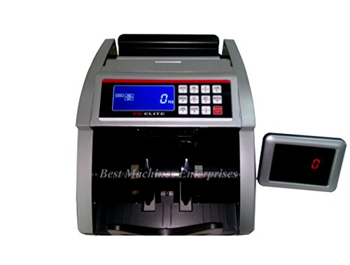 BME Elite Note Counting Machine with Fake Detection. 1 Year Warranty Compatible with new INR notes  available at Amazon for Rs.4999