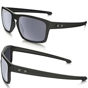 25749e7933 Oakley Sunglasses Amazon Uk  quot NEW 2016 quot  OAKLEY SLIVER MENS  SUNGLASSES OO9262-01 MATTE BLACK   GREY