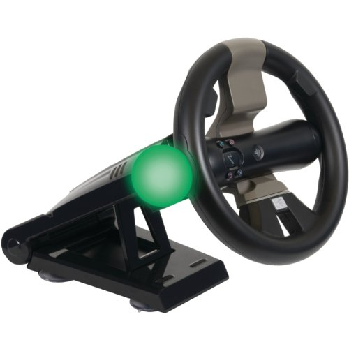 Playstation Move And Dualshock Racing Wheel With Stand front-769954