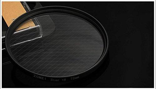 DELLT- 4 fils 67MM Starlight Mirror Mirror Snowflake 52/55/58/62/72/77 / Miroir lumineux ( taille : 82mm )