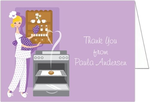 Bun In The Oven Baby Shower Thank You Cards - Set Of 20 front-975894