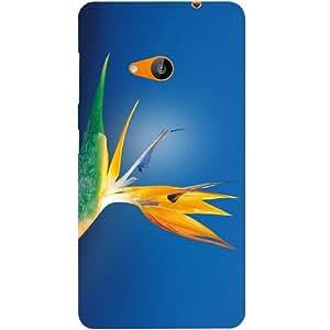 Casotec Flower Bud Design Hard Back Case Cover for Microsoft Lumia 535